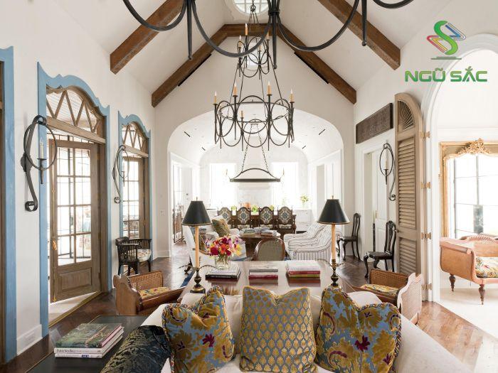 Trang trí nội thất kiểu Địa Trung Hải