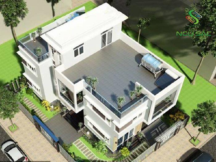 Chi phí xây dựng nhà có tầng tum