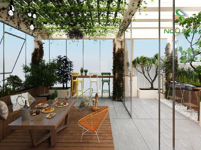 Vườn tầng tum
