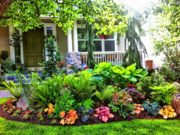Xây dựng vườn hoa đẹp trong vườn