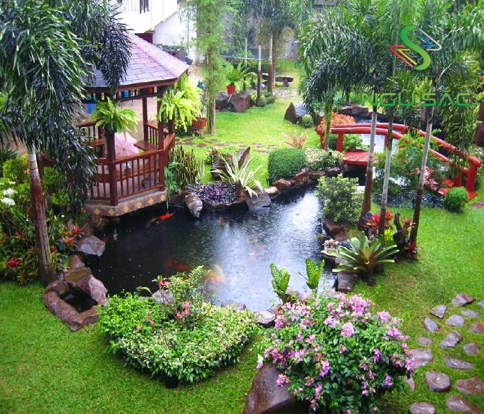 Chòi nghỉ sân vườn