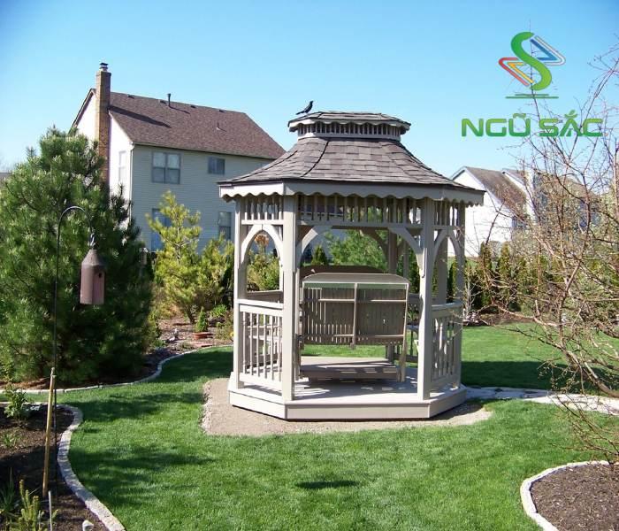 Chòi sân vườn sang trọng
