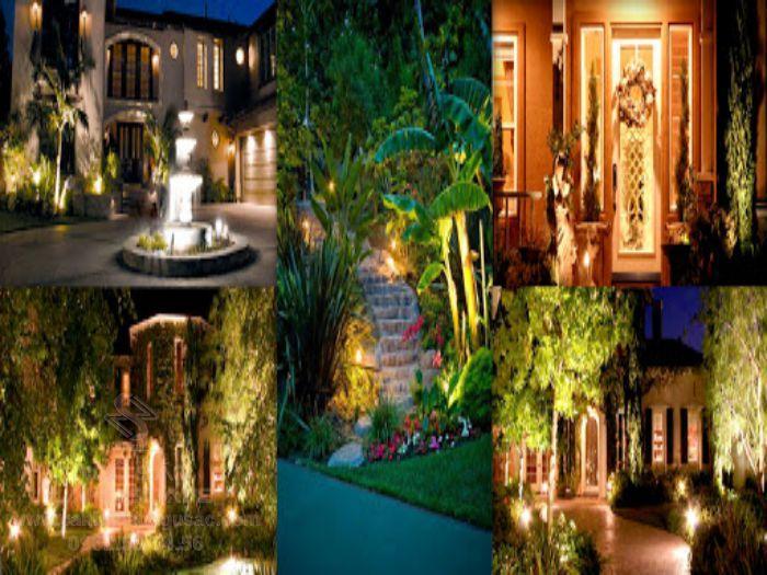 Một số mẫu đèn trang trí sân vườn