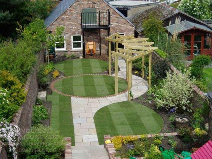 Thiết kế sân vườn cho nhà vườn đẹp