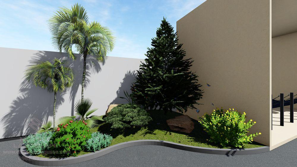 Bồn cây tỏng sân vườn