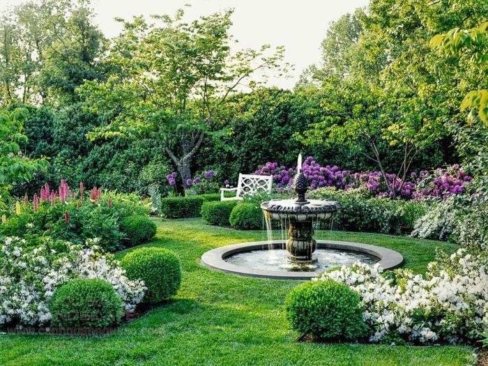 Đài phun nước cho sân vườn cổ điển