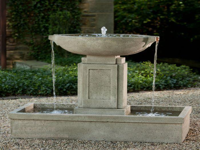 Mẫu đài phun nước đon giản