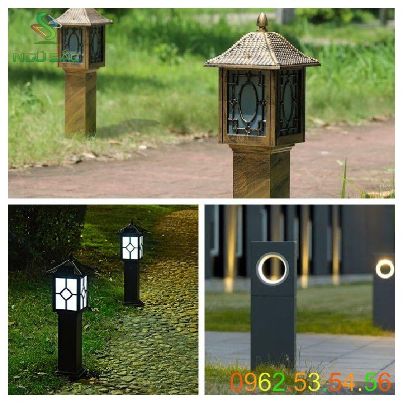 Các mẫu đèn nấm sân vườn đẹp