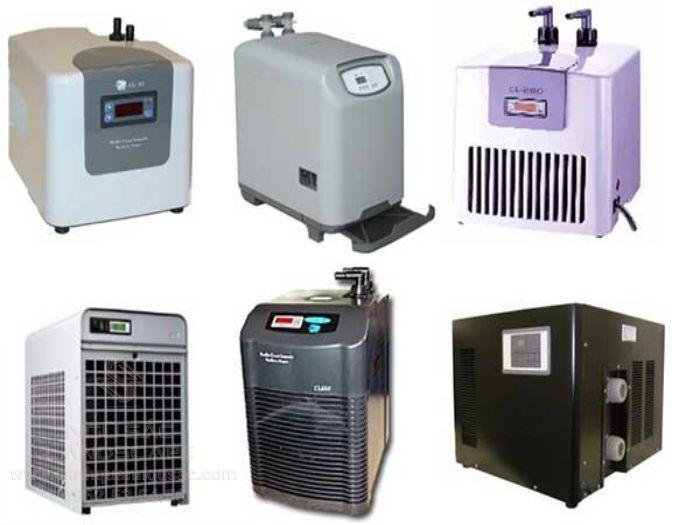 Các loại máy làm lạnh hồ