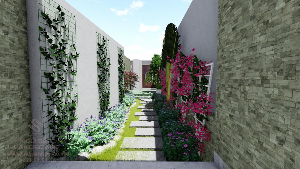 Sân vườn nhỏ đẹp