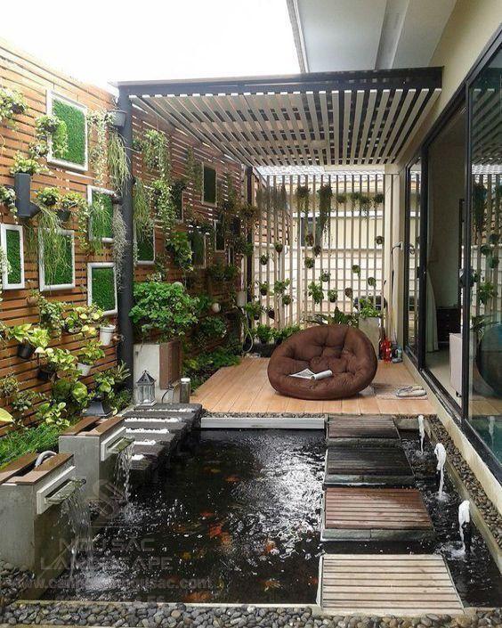 Đơn vị thiết kế thi công sân vườn nhỏ cho nhà phố