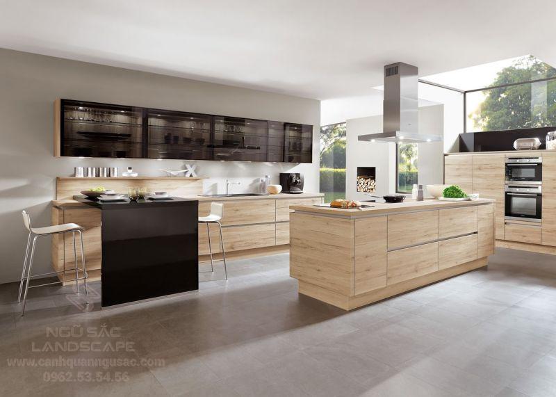Mẫu gạch lát sàn phù hợp cho nhà bếp