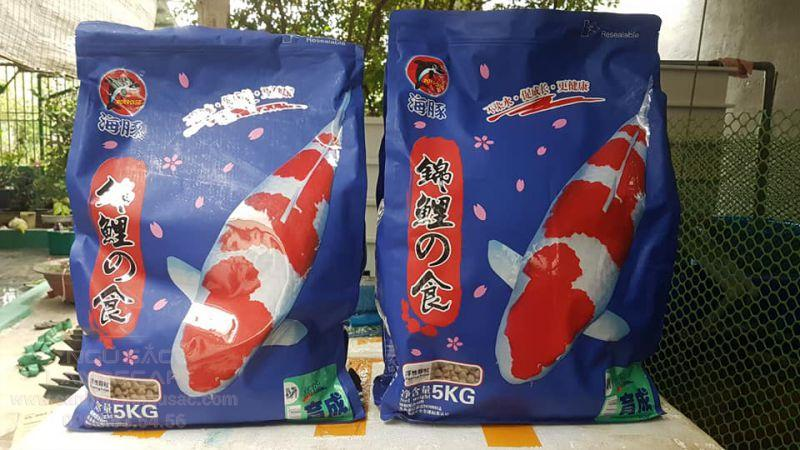 Thức ăn Porpoise cho chép Koi