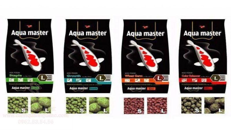 Các dòng thức ăn Aquamaste cho cá koi