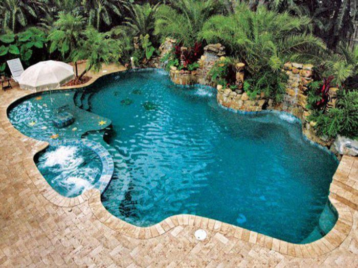 Hồ bơi chuẩn với đủ 5 yếu tố ngũ hành