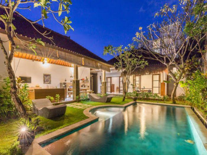 Mẫu sân vườn theo phong cách hiện đại cho homestay