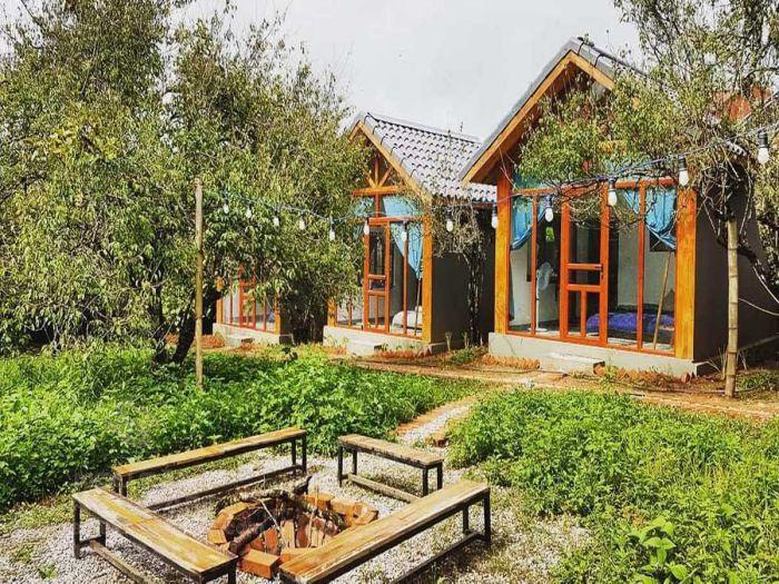 Thiết kế sân vườn cho homestay đẹp