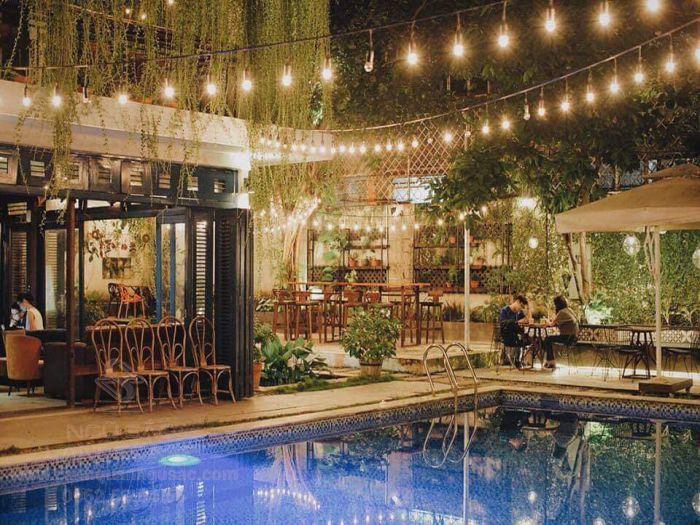 Sài Gòn Chic ngoài là quán nước thường được lựa chọn để tổ chức lễ cưới