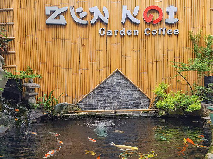 Quán cà phê Zen Koi là điểm đến được các gia đình ưu thích