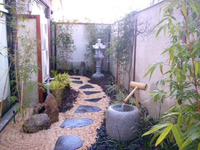 Thiết kế sân vườn 30m2 phong cách Nhật Bản