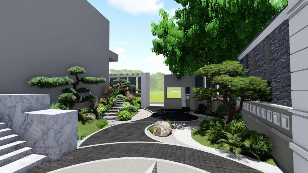 Tổng quan thiết kế sân vườn Nhật Bản