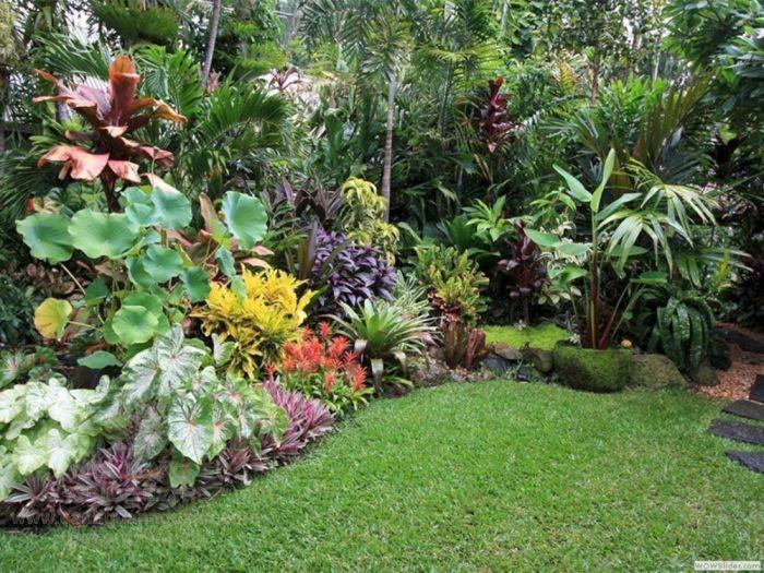 Phối cảnh cây trồng cho sân vườn đẹp mắt