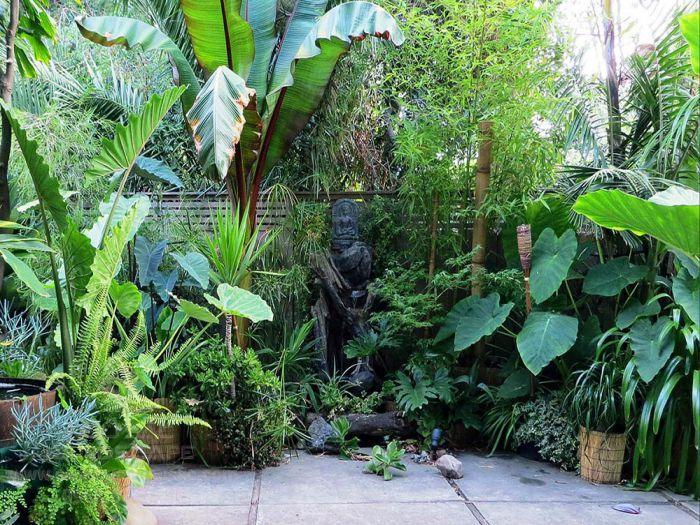 Cách phối cảnh cây trồng cho sân vườn biệt thự