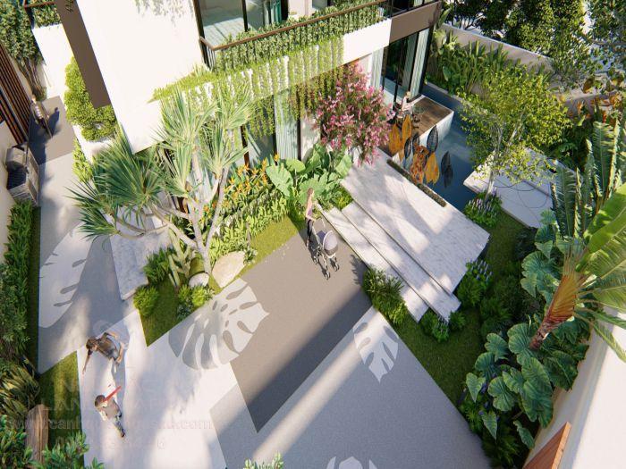 Ý tưởng thiết kế vườn nhiệt đới